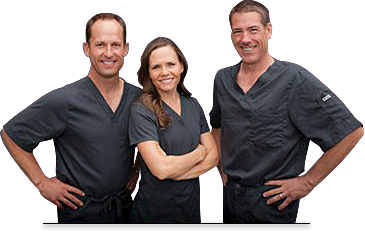 Dr. Ryan Harris, Dr. Tiffany Harris, Dr. Mike Poth